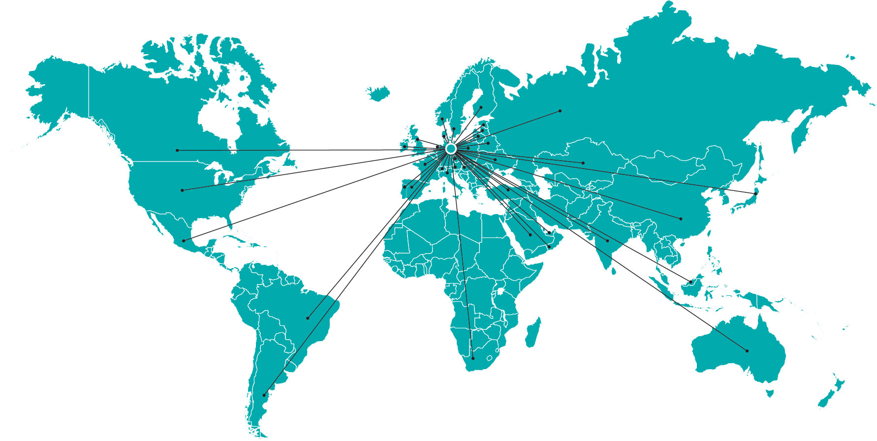 BKP Berlina weltweit